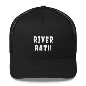 "River rat, suck out, should have folded but ""had a feeling"" prick"