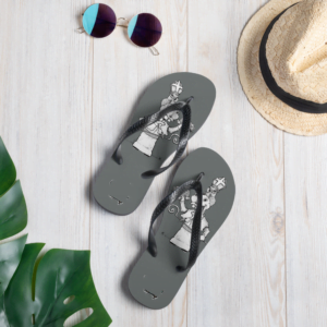 Silly Troll Flip-Flops. Comfortable trolling for warmer weather.