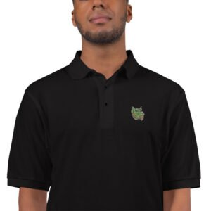 They said you need a collared shirt. This technically fits that requirement. Embroidered Polo Shirt