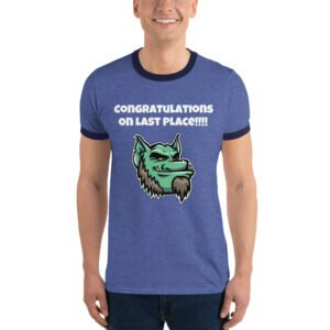 Customize a shirt for your fantasy league. Troll them when it matters most. Draft day!!! Ringer T-Shirt