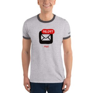 For the people who can't stand unread messages Ringer T-Shirt