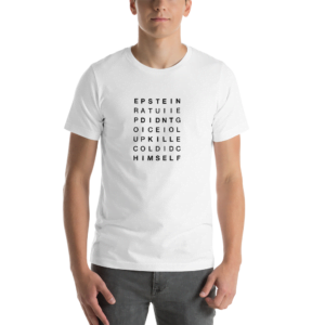 Epstein didn't kill himself crossword puzzle Short-Sleeve Unisex T-Shirt